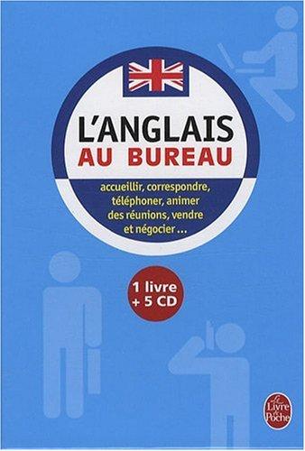 Coffret l'anglais au bureau livre + 5 CD