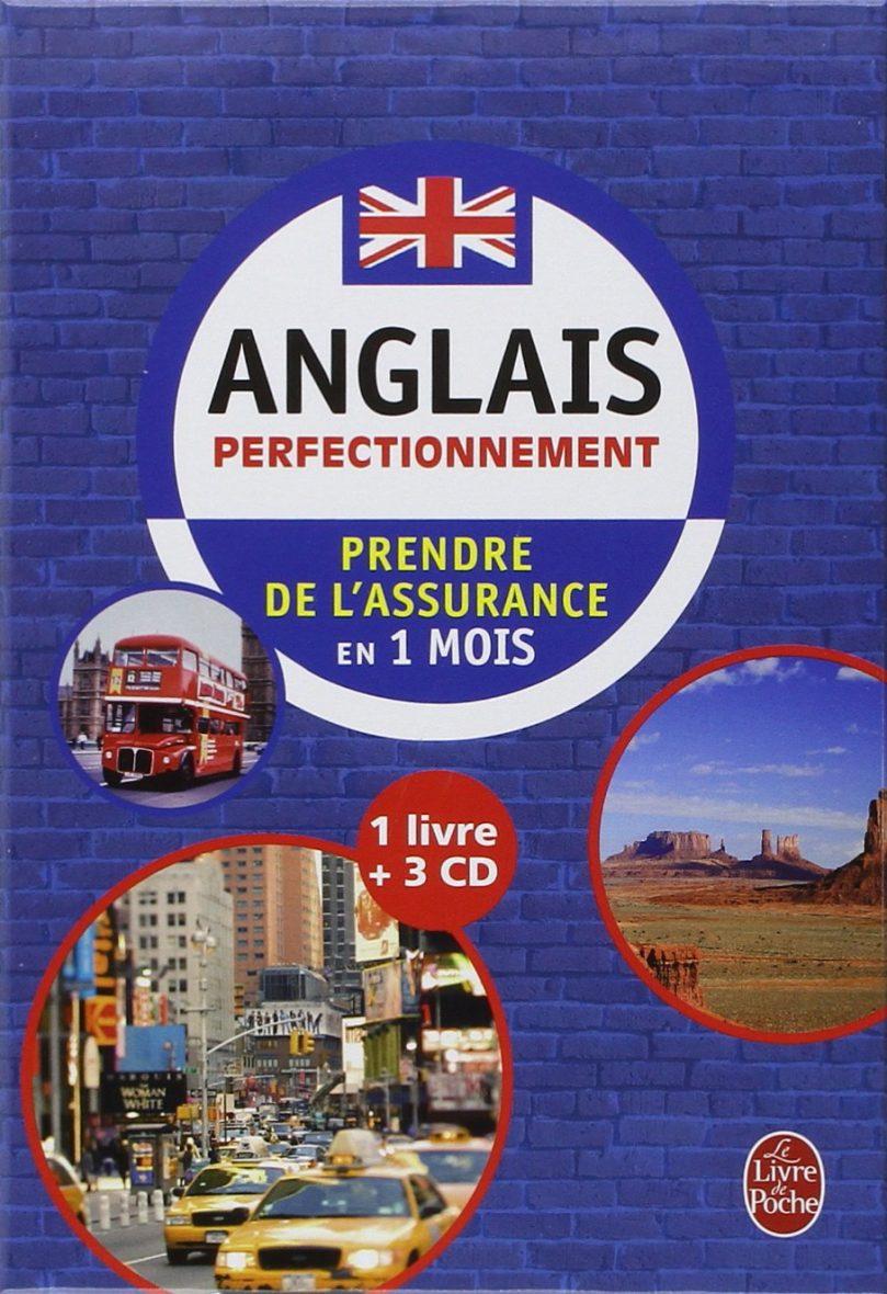 Coffret anglais perfectionnement livre + 3 CD