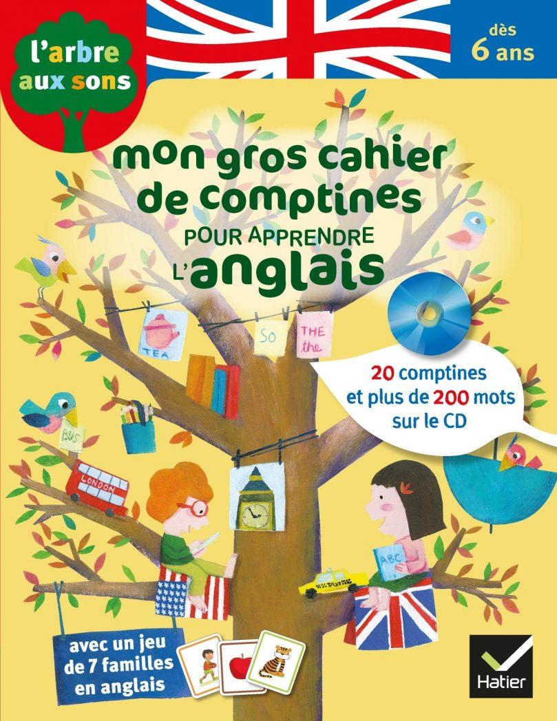 Cahier de comptines pour apprendre l'anglais